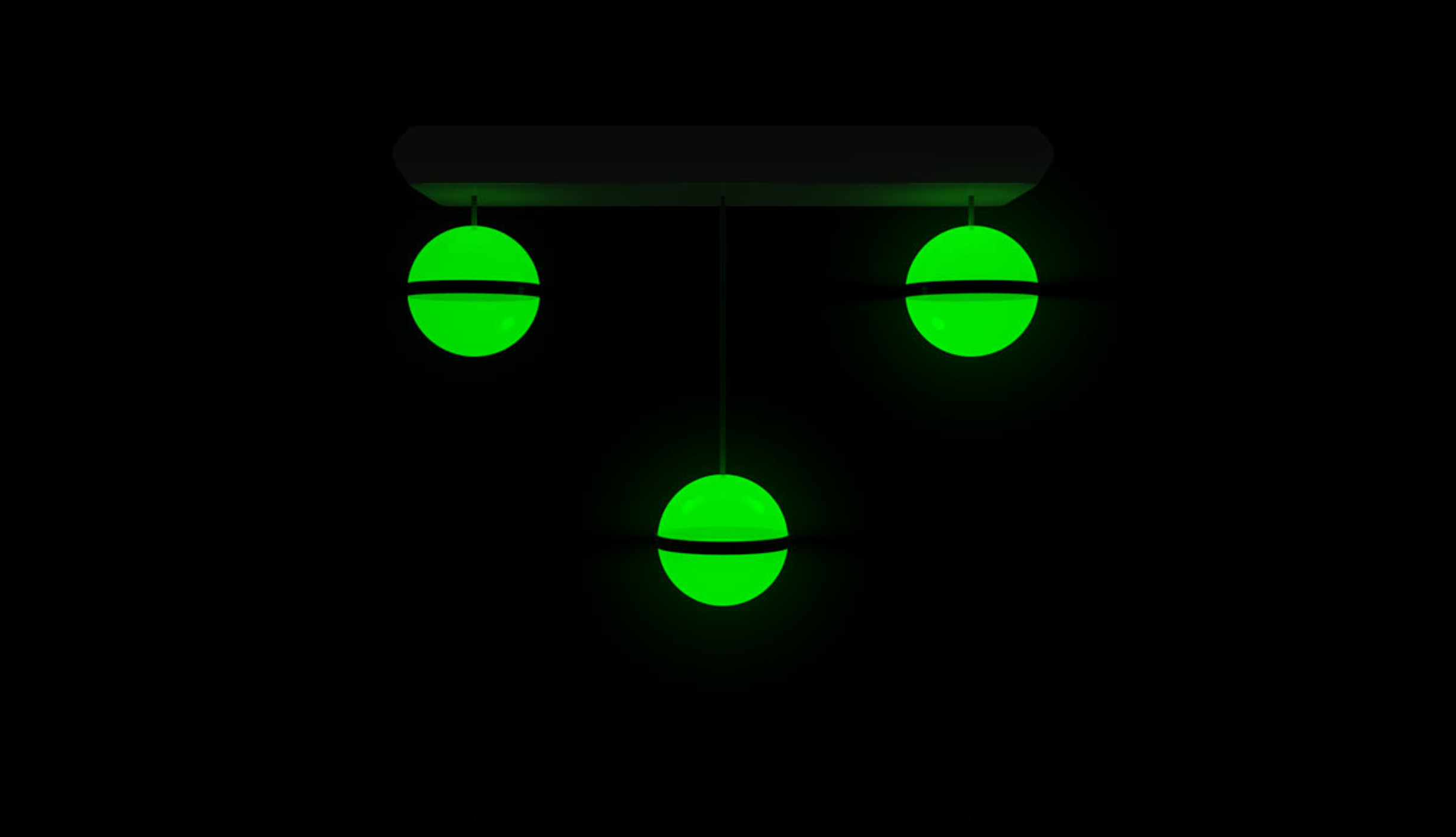 Lightballmixer green