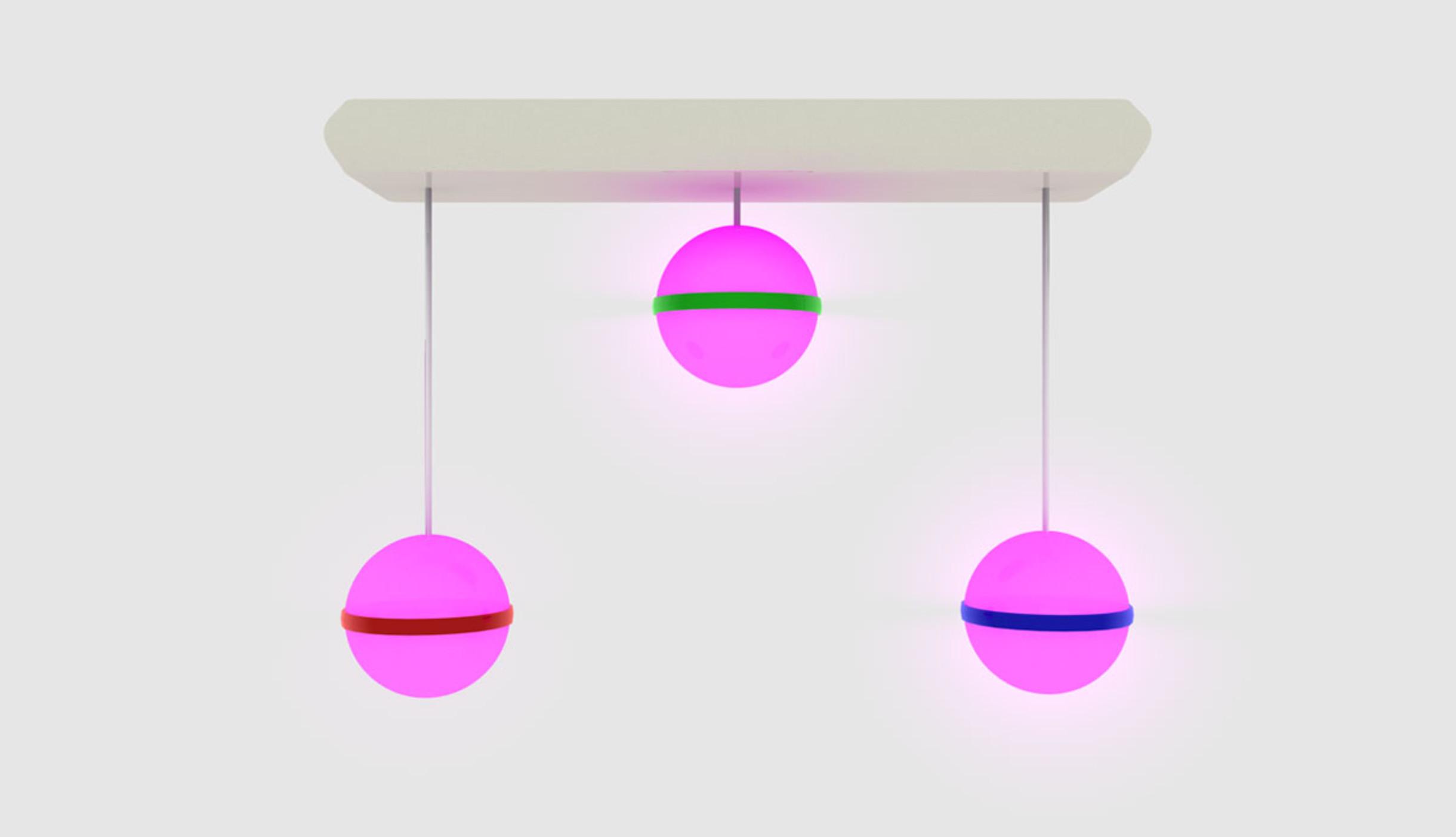 Lightballmixer pink