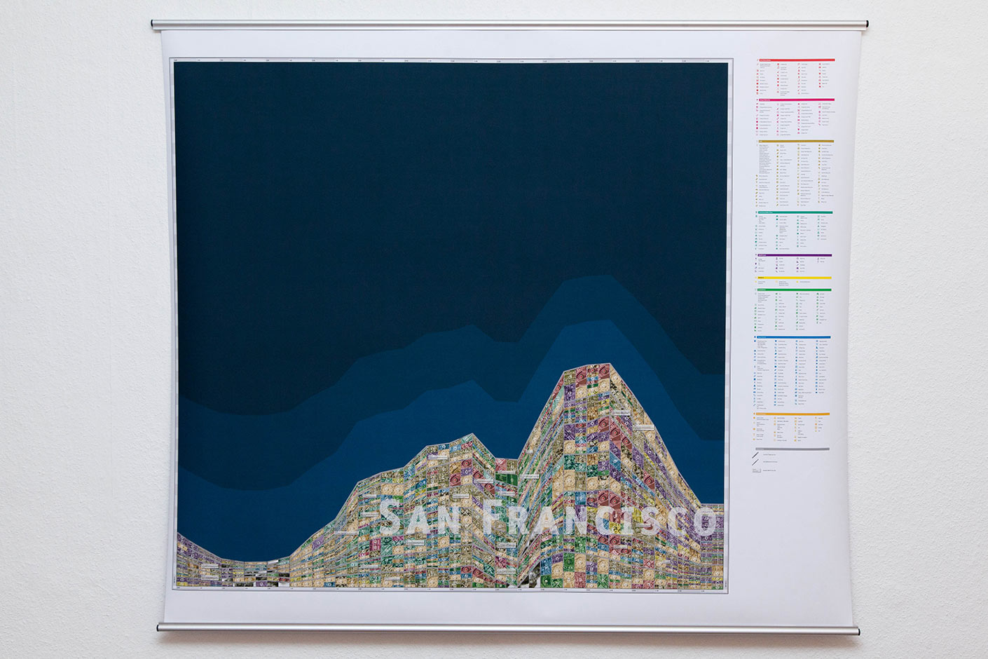 Gegenwärtige Stadtkartographie | San Francisco